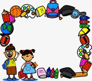 School Border PNG File PNG Clip art