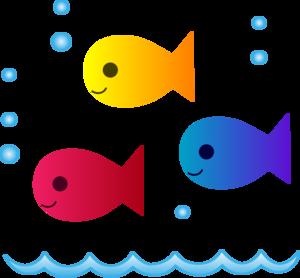 School of Fish PNG Clipart PNG Clip art