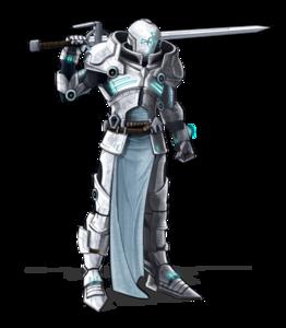 Sci Fi Warrior PNG File PNG Clip art