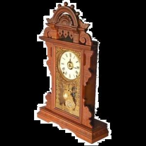Scroll Shelf Clock Transparent PNG PNG Clip art