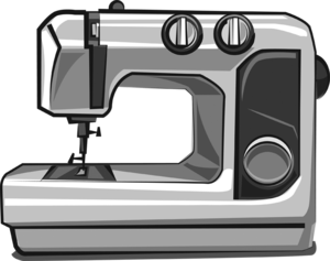 Sewing Machine Background PNG PNG Clip art