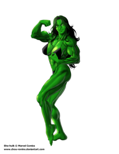 She Hulk PNG File PNG Clip art