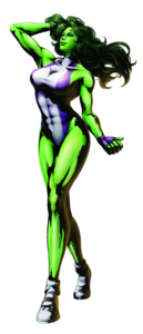 She Hulk PNG HD PNG clipart