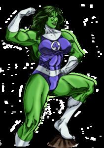 She Hulk PNG Transparent Image PNG Clip art
