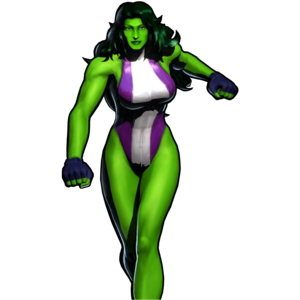She Hulk PNG Transparent PNG Clip art
