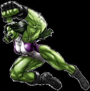 She Hulk Transparent PNG PNG Clip art