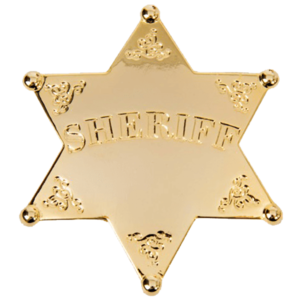 Sheriff Badge PNG Background Image PNG Clip art