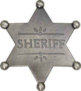 Sheriff Badge PNG Pic PNG Clip art