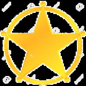 Sheriff Badge Transparent Background PNG Clip art