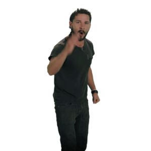 Shia Labeouf Transparent Background PNG Clip art