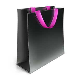Shopping Bag Icon Black PNG PNG clipart
