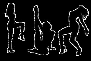 Silhouette Transparent Background PNG Clip art