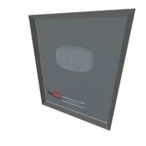 Silver Play Button PNG File PNG Clip art
