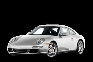 Silver Porsche PNG PNG Clip art