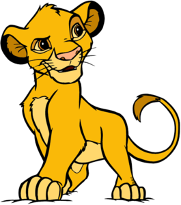 Simba Background PNG PNG Clip art