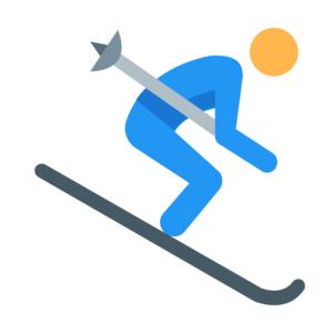 Skiing Transparent Background PNG Clip art
