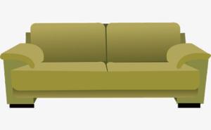 Sleeper Sofa Transparent PNG PNG Clip art