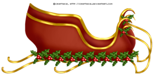 Sleigh PNG File PNG Clip art