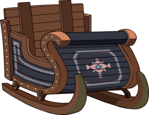 Sleigh PNG Image PNG Clip art