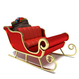 Sleigh PNG Photo PNG Clip art
