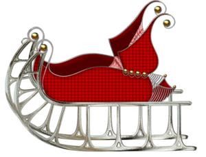 Sleigh PNG Pic PNG Clip art