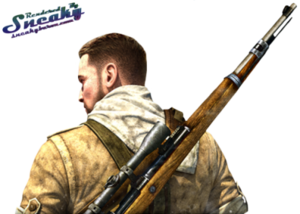 Sniper Elite Transparent PNG PNG Clip art