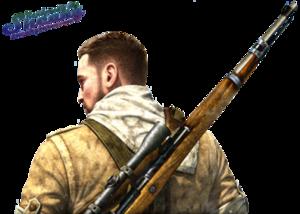 Sniper Elite Transparent PNG PNG Clip art