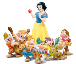 Snow White And The Seven Dwarfs PNG Photos PNG image