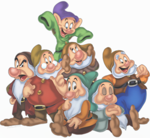 Snow White And The Seven Dwarfs PNG Pic PNG Clip art