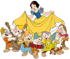 Snow White And The Seven Dwarfs PNG Transparent PNG clipart