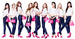 SNSD PNG Image PNG Clip art