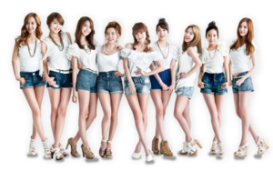 SNSD PNG Picture PNG Clip art