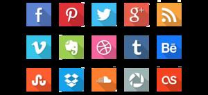 Social Icons PNG Transparent Image PNG Clip art