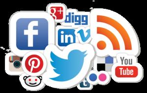 Social Media PNG Background Image PNG Clip art