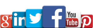 Social Media Transparent Background PNG Clip art