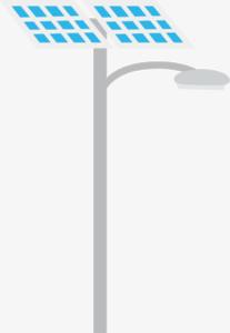 Solar Street Light PNG Image PNG Clip art