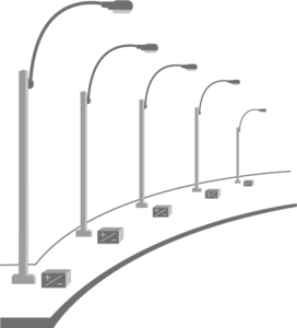 Solar Street Light PNG Pic PNG Clip art