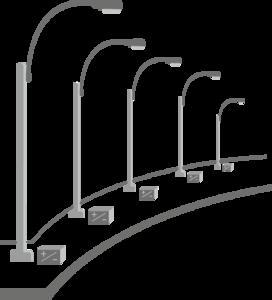 Solar Street Light PNG Pic PNG Clip art