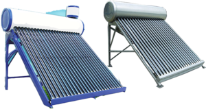 Solar Water Heater PNG File PNG images