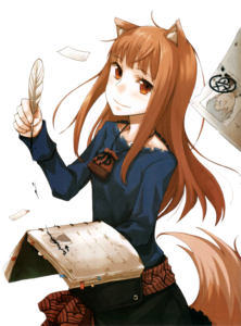 Spice And Wolf Transparent Background PNG clipart