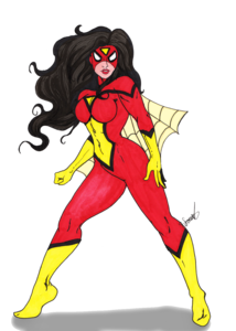 Spider Woman PNG HD PNG Clip art