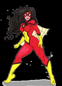 Spider Woman PNG HD PNG Clip art