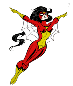 Spider Woman PNG Pic PNG Clip art