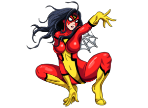 Spider Woman Transparent Background PNG Clip art