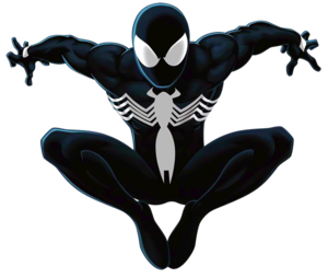 Spiderman Black PNG File PNG Clip art