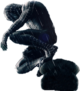 Spiderman Black Transparent Background PNG Clip art