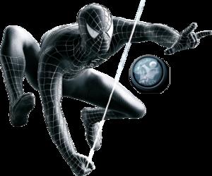 Spiderman Black Transparent PNG PNG Clip art