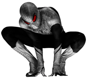 Spiderman Black PNG Clip art