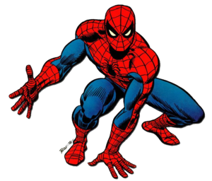 Spiderman Comic PNG HD PNG Clip art