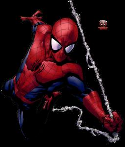 Spiderman Comic PNG Pic PNG Clip art